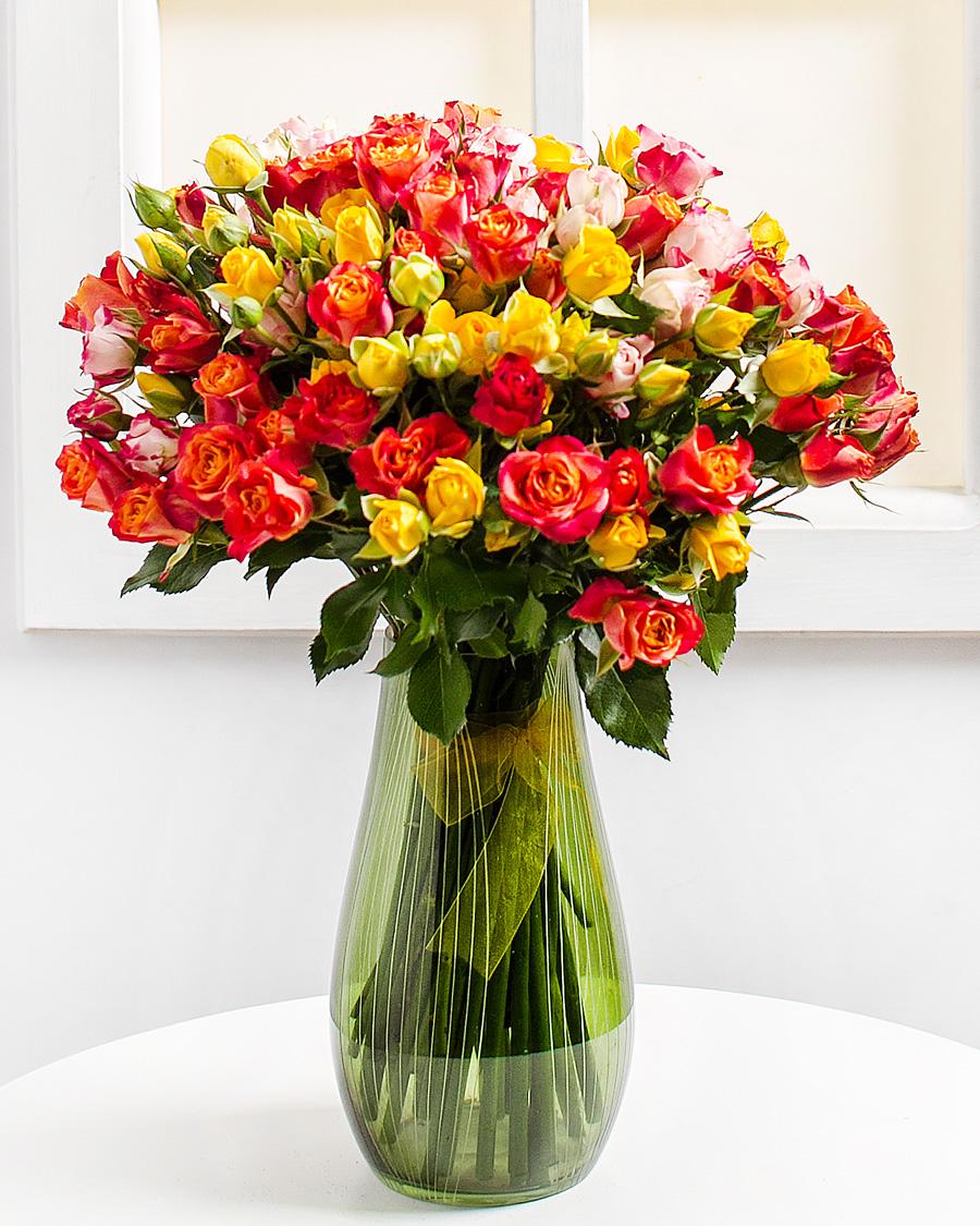 Kisfejű rózsák (min. ár: 7000 Ft)