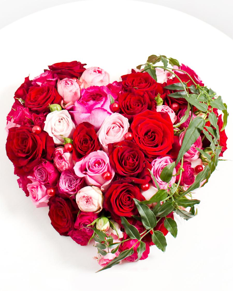 Virágszív a szerettünknek